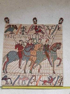 Bayeux Tapestry panel 48x48 cm Duke William on his way