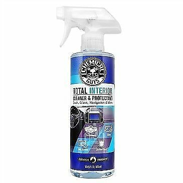 Chemical Guys Total Interior Cleaner And Protectant 16OZ +FREE PAIR LATEX GLOVES