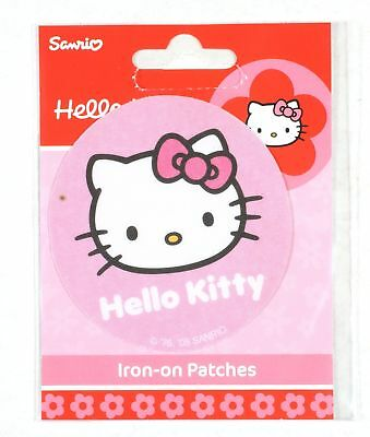 Mode et beauté Hello Kitty Écusson thermocollant, Noeud rose