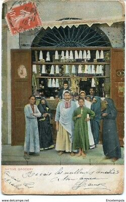 CPA-Carte postale-  Maroc - Native Grocery - 1910 (CP1280)