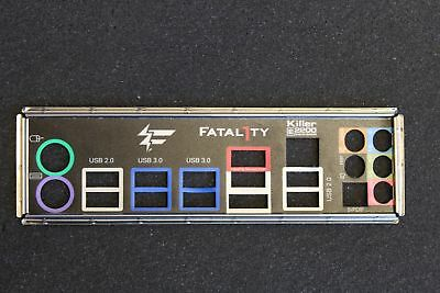 Abit Fatality 990FX Killer Blende - Slotblech - IO Shield   #37186