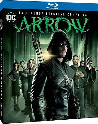 Arrow - La seconda stagione completa (4 Blu-Ray) NUOVO ORIGINALE E SIGILLATO ITA