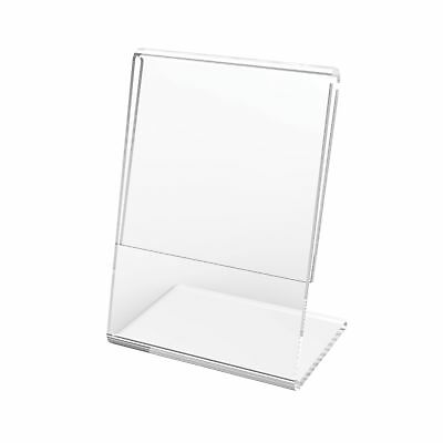 """Deflecto Mini Slanted Sign Holders, 10 Piece, 2 x 3 Inches (20005CR) 2"""" x 3"""""""