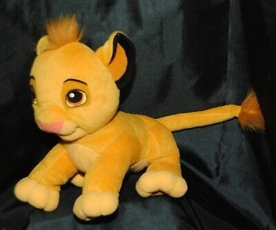 Disney The Lion King 11 Inch Young Simba Soft / Plush Toy
