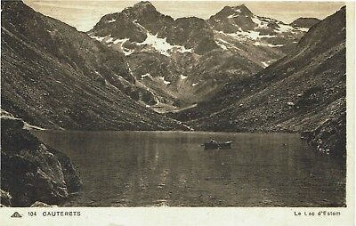 CPA-Carte postale-  FRANCE -CAUTERETS - Lac d'Estom (iv 694)​​​​