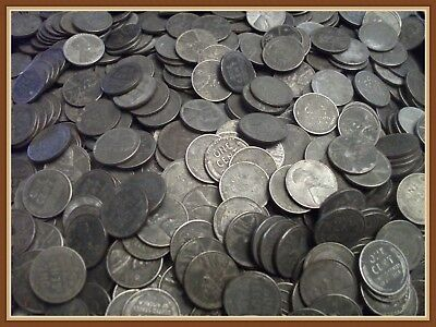 "1943 Lincoln Wheat Cent, 1 Collectible Steel Penny, ""Buy 10 Get 5 FREE"""