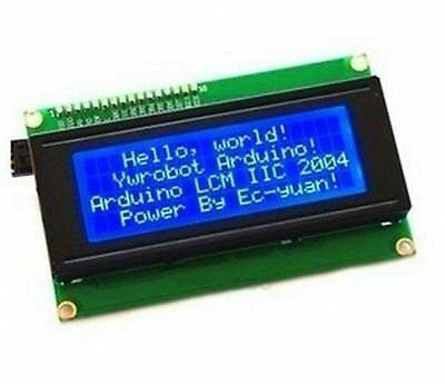 5Pcs Blue IIC/I2C/TWI/SP​​I Serial INTERFACE2004 20X4 Character Lcd Module