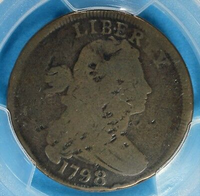 1798 Draped Bust Large Cent PCGS AG03-S-149 1st Hair Style, Very Scarce Variety
