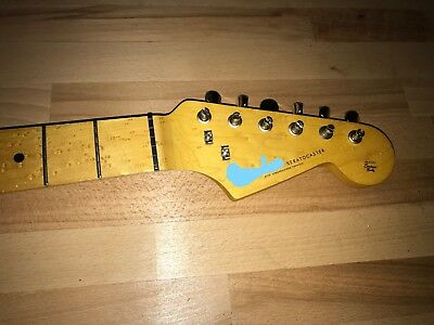 Fender Lic. Stratocaster-Neck by Warmoth 59Profil, Birdseye-Maple
