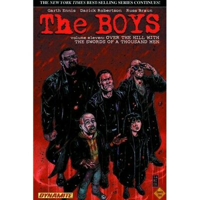 Boys Tp Vol 11 Over The Hill -  - 06/06/2012