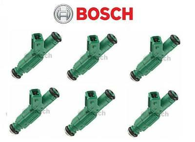 Genuine BOSCH MOTORSPORT GREEN GIANT 440cc EV1 0280155968 Fuel Injectors (6)