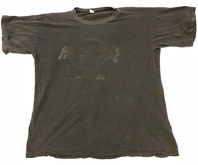 Vtg Distressed Hard Rock Cafe Mallorca T-shirt Very Worn Out Soft Thin Faded