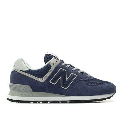 New Balance Shoes Classic Style Ml574Egn Color Navy