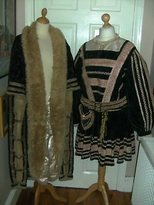 Mens Theatrical Tudor Period Henry Viii Costume By Homburgs Show Stage Theatre