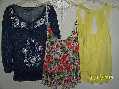New without Tags!  Women's Tops Size M. 3 LOT!