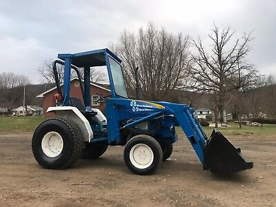 New Holland Ford 4X4 1520 Loader Tractor  W/ 3 Point Hitch 540 Pto Diesel