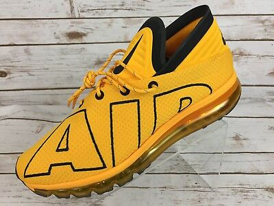af7f5f09d3 ... basketball shoes gold yellow 942236 700 043e4 5394d; uk new men nike  air max flair uptempo size 12 university gold black 942236 700 f90dc