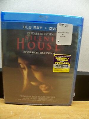 New Genuine Usa Blu Ray Dvd Elizabeth Olsen Silent House  Free 1St Cls S&H