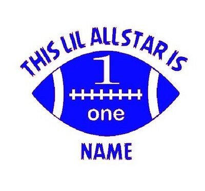 First Birthday Lil Allstar Onesie - Sizes up to 24 months!  $9.99 each!