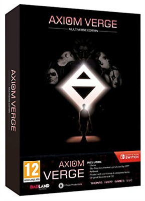 Nintendo Switch-AXIOM VERGE MULTIVERSE EDT  (UK IMPORT)  GAME NEW