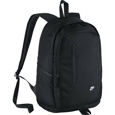 Nike Soleday Backpack All Access Mens Running Sports Swoosh Training Gym Black