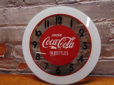 "Rare &Vintage  ~""Coca Cola"" Advertising ~ Clock Face 11"""