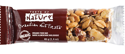 Taste of nature berretta con noci Brasiliane 40g