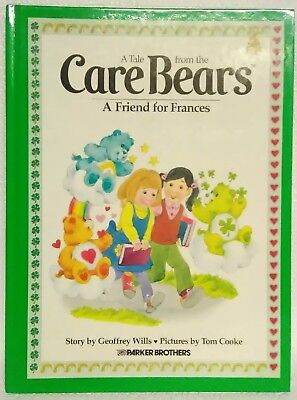 A Tale from the Care Bears: A Friend For Frances Hardcover 1983 Vintage Book