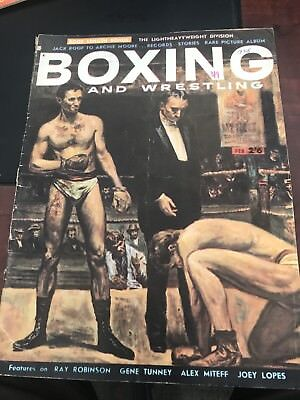Boxing & Wrestling Magazine February 1958 Very Good Condition
