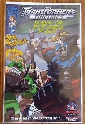 Transformers Botcon 2006 DAWN OF FUTURES PAST Timelines #1 Comic BEAST WARS Fun