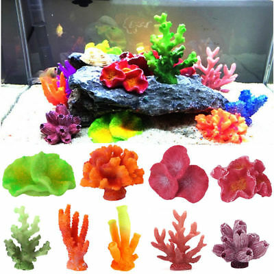 Artificial Resin Coral For Aquarium Fish Tank Decoration Underwater Ornament Hot