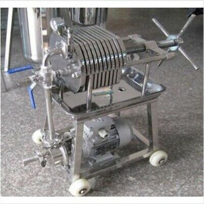 Stainless Steel 150 Filter Press Filter Machine Laboratory Filtration Equipme fa