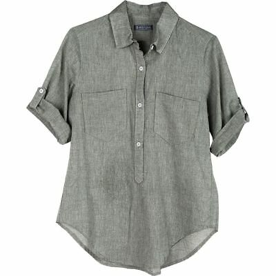 United By Blue Torrey Popover Shirt Green M