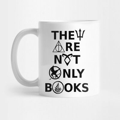 Tazza Fandom They Are Not Only Books Hunger Games Harry Potter Nerd Divergent #1