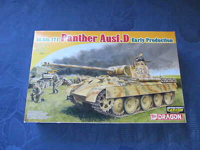 "Dragon 1:72 Nr 7494 ""Sd.Kfz. 171 Panther Ausf.D Early Production"""