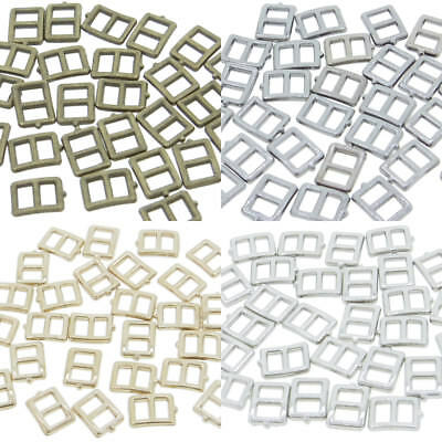 5x6mm Inner 3mm DIY Doll Clothes Sewing Metal Rectangle Claw Belt Buckles 30pcs