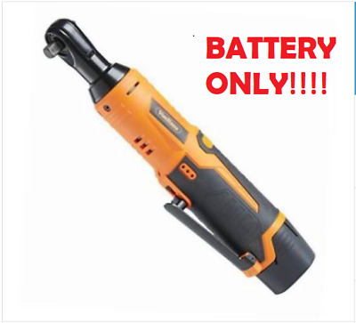 "spare 12v lithium-ion battery for the  3/8"" and 1/4"" cordless electric ratchet"