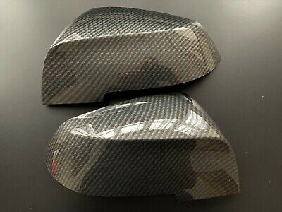 CARBON WING MIRROR COVERS FITS BMW 1/2/3/4 SERIES F20 F22 F23 F30 F32 F34 F36 i3