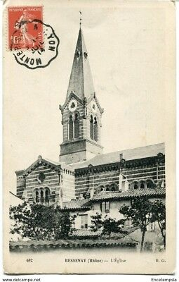 CPA - Carte postale - FRANCE-Bessenay - L'Eglise - 1914 (CP1315)