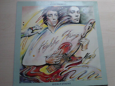 Lp  Steve Hackett (Genesis)  -Highly Strung-
