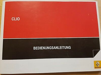 betriebsanleitung renault kangoo 1 handbuch 1999 bedienungsanleitung bordbuch eur 24 00. Black Bedroom Furniture Sets. Home Design Ideas