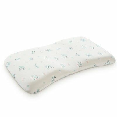 Head Positioner Memory Foam Baby Pillow Prevent Flat Head Syndrome-Anti Roll for