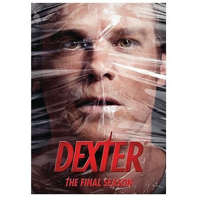Dexter: The Final Season (DVD, 2013, 4-Disc Set) NEW Free Shipping SEALED