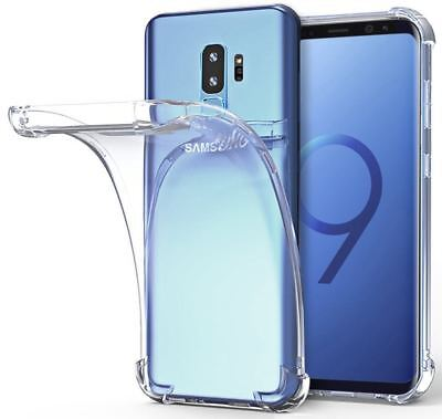 For Galaxy S9 Plus S10 Plus S10e Clear Case TPU Bumper Transparent Cover Protect