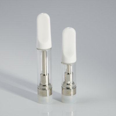 CCELL Brand TH210 Ceramic Glass Cartridge Tank for Thick Oil Co2 510 Lot 1mL