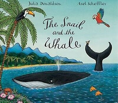 The Snail and the Whale by Julia Donaldson (Paperback) [NEW]