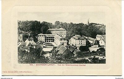 CPA-Carte postale-France - Bourbon Lancy - Vue de l'Etablissement thermal - 1910