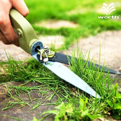 GRASS GARDEN PRIMITIVE Hand Long Antique Shears Clippers Vintage ...