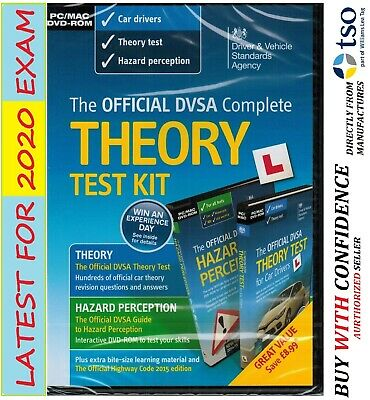 Official DVSA Theory Test Kit for Car Drivers PC and Mac for 2019 Car Test - Kit