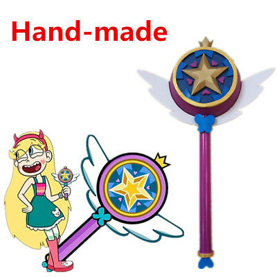 Star vs. the of Forces Evil Princess Magic Wand Stick Hand Cosplay Prop